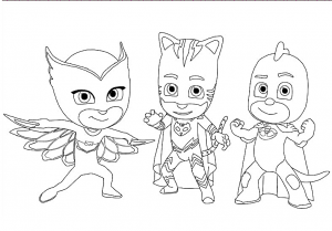 pj mask coloring lesson  coloring pages for kids  coloring lesson  free printables and