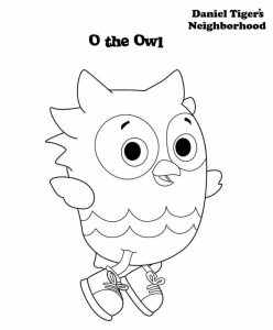 Daniel Tiger Neighbourhood Coloring Lesson Kids Coloring Page Coloring Lesson Free Printables And Coloring Pages For Kids