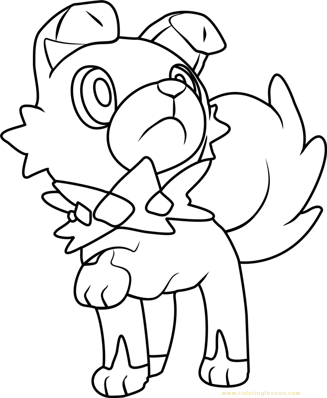 Iwanko Pokemon Sun And Moon Kids Coloring Page Coloring Lesson Free Printables And Coloring Pages For Kids