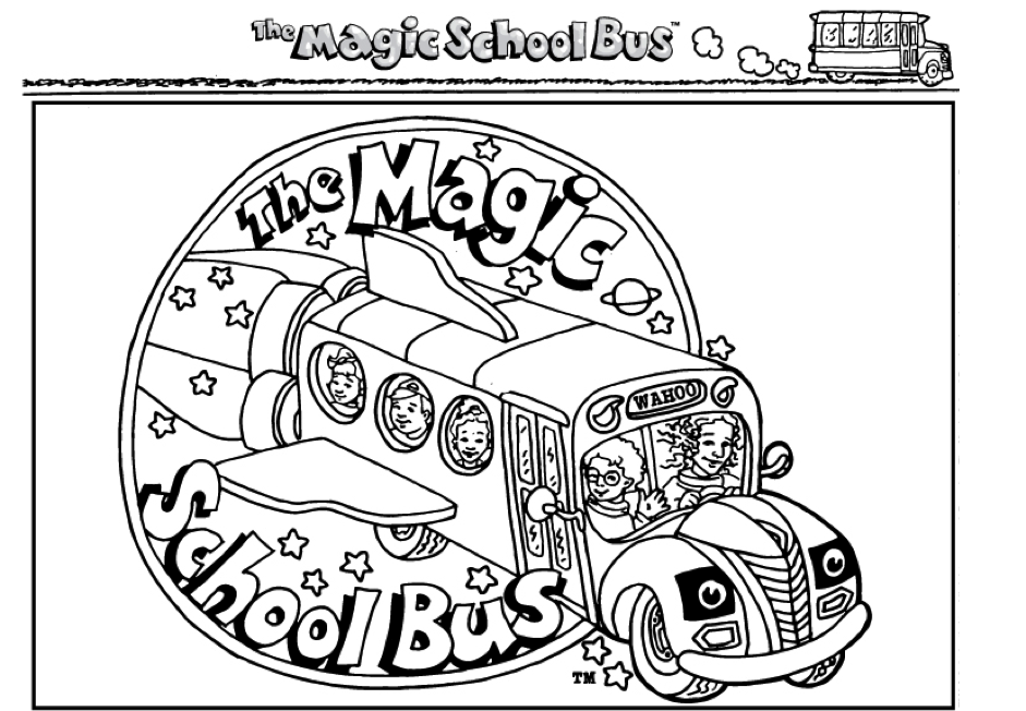 - Magic School Bus Coloring Lesson Kids Coloring Page – Coloring Lesson –  Free Printables And Coloring Pages For Kids