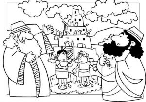 Tower of Babel Coloring Lesson   Kids Coloring Page ...